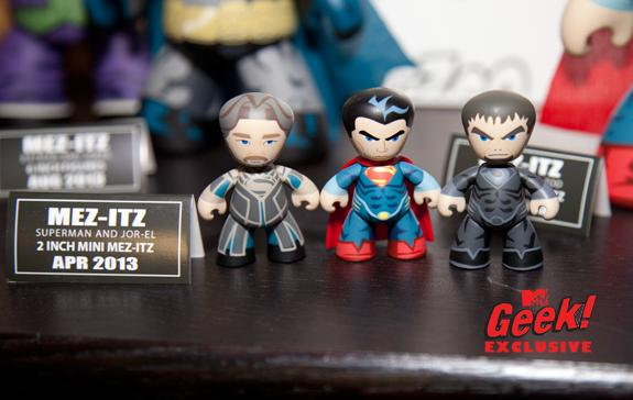 man of steel superman jor el mezco First Look At Superman: Man of Steel Mezco Toys