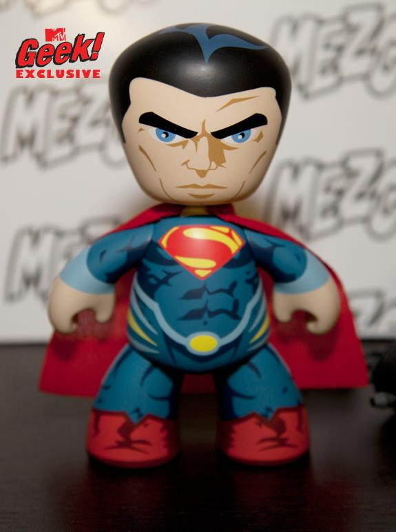 man of steel superman mezco First Look At Superman: Man of Steel Mezco Toys