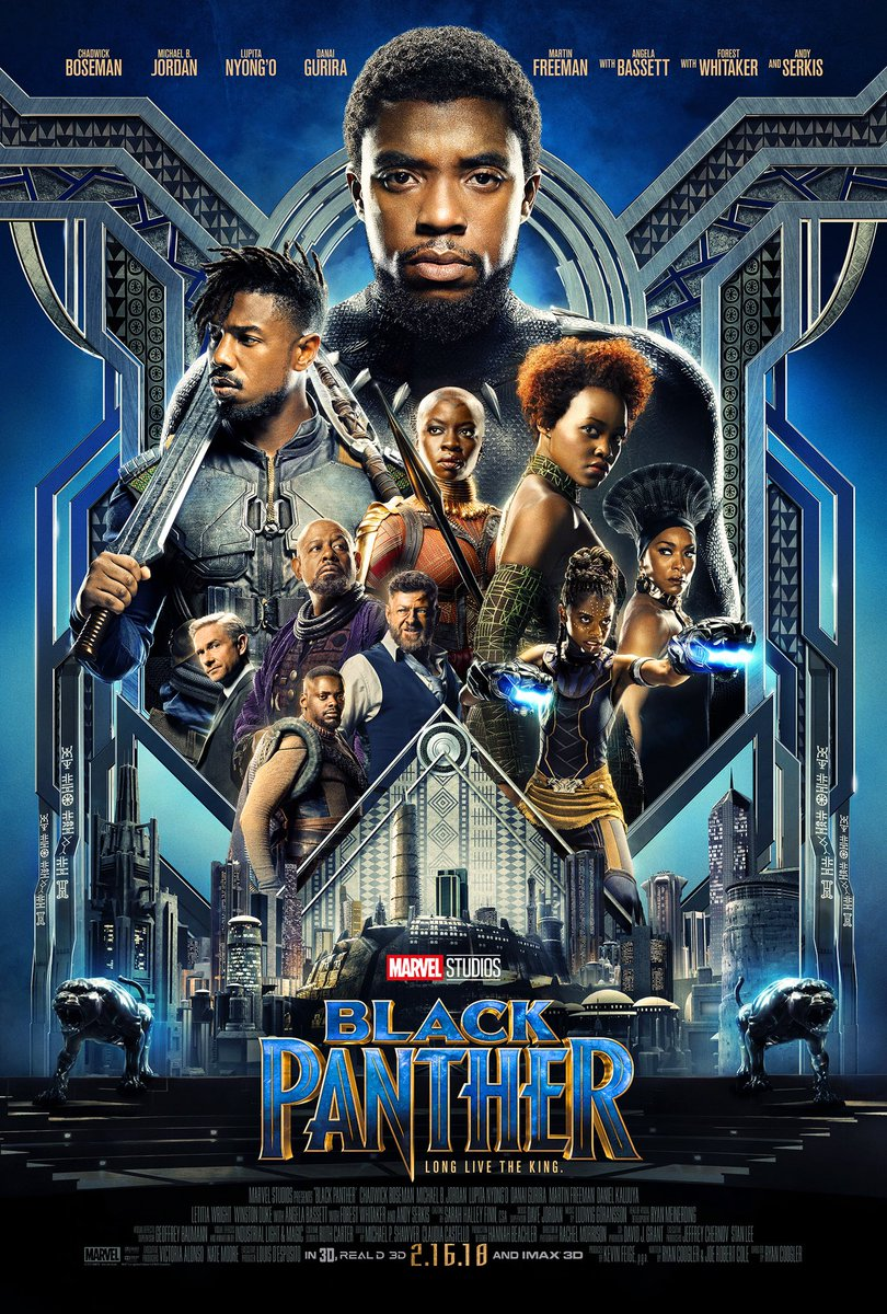 Marvel's Black Panther Gets A New Movie Trailer