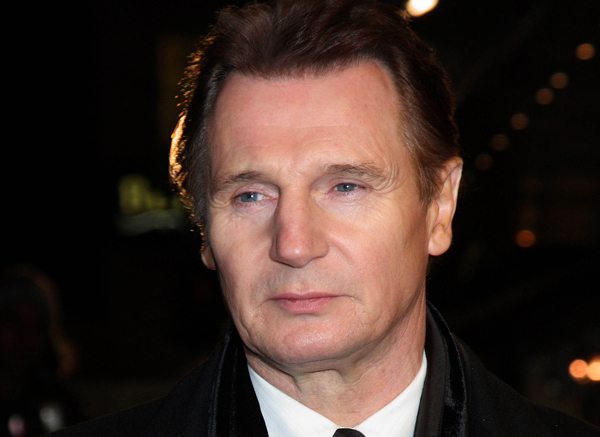neeson1 Liam Neeson opens his heart during TV interview about wife Natasha Richardson's tragic death