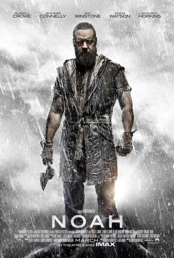 noah movie one sheet Darren Aronofskys Noah Gets A New Poster