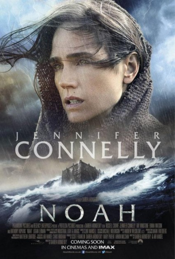 noah movie poster jennifer connelly Darren Aronofskys Noah Gets Two New Posters