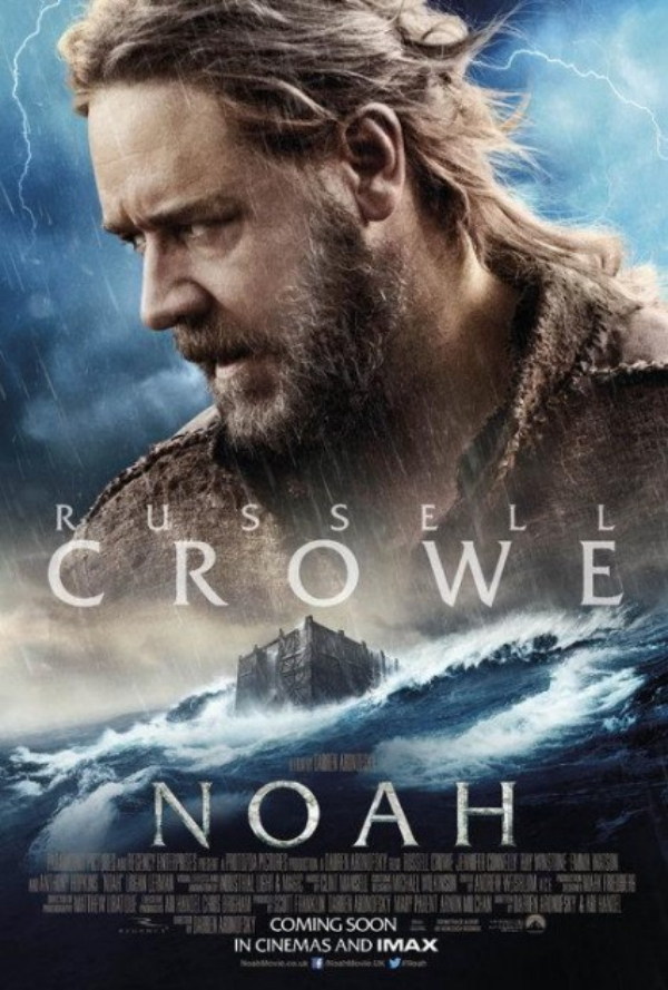 noah movie poster russell crowe Darren Aronofskys Noah Gets Two New Posters