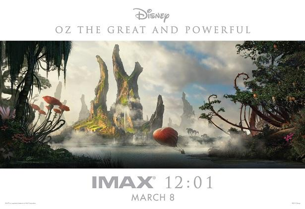 oz the great and powerful imax poster Beautiful New Oz: The Great and Powerful Poster Hits The Web