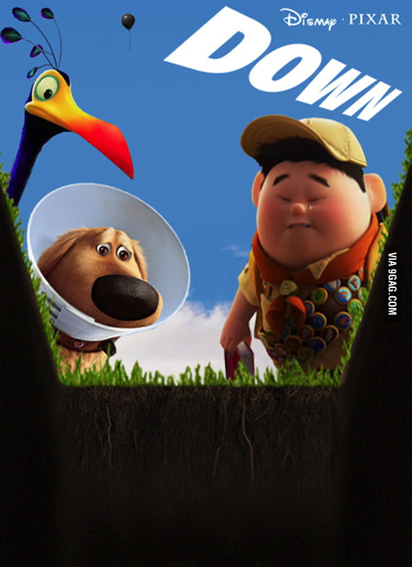 pixar down Down: The Sequel To Pixar's UP No One Wants To See