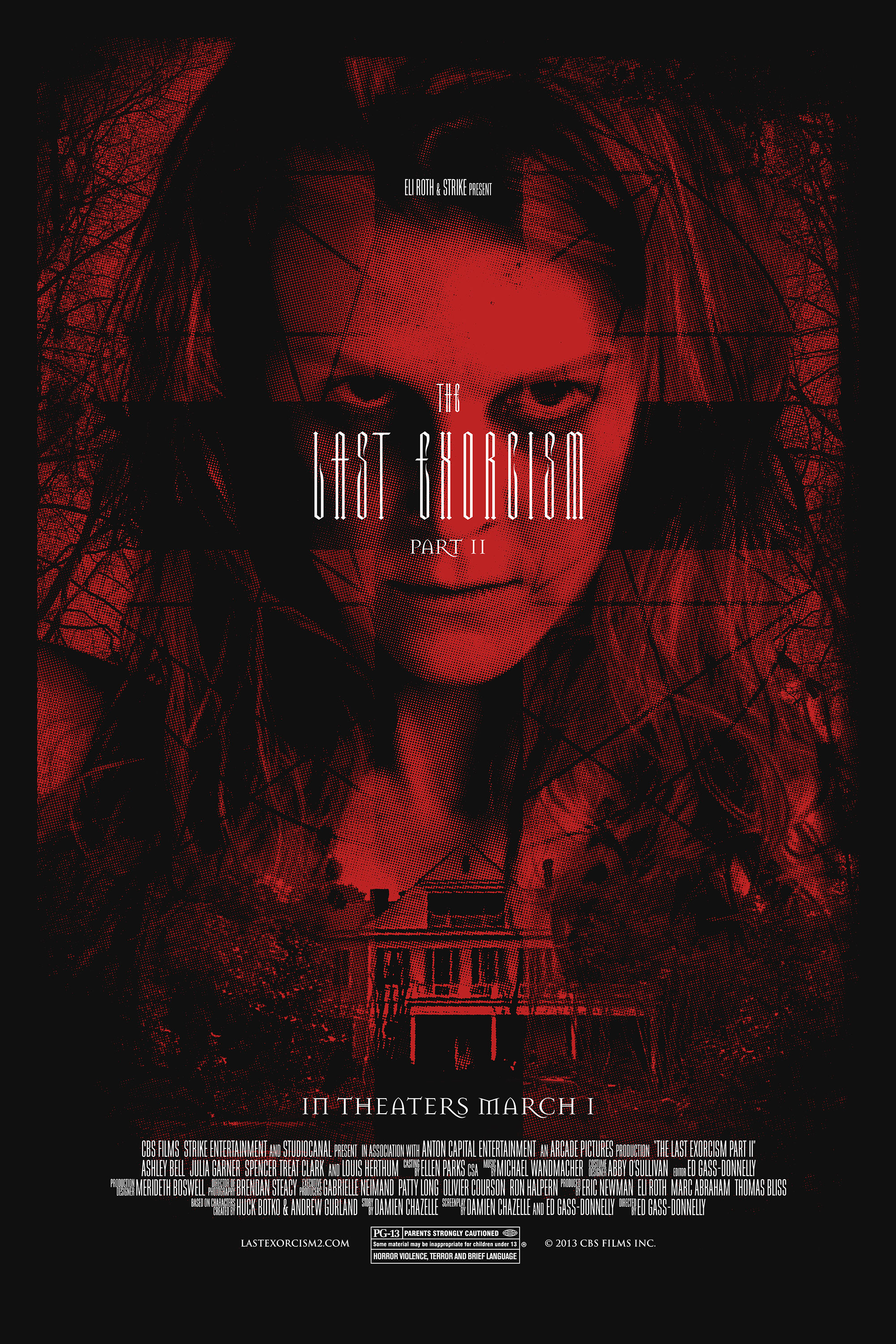 The Last Exorcism Red Limited Edition Poster