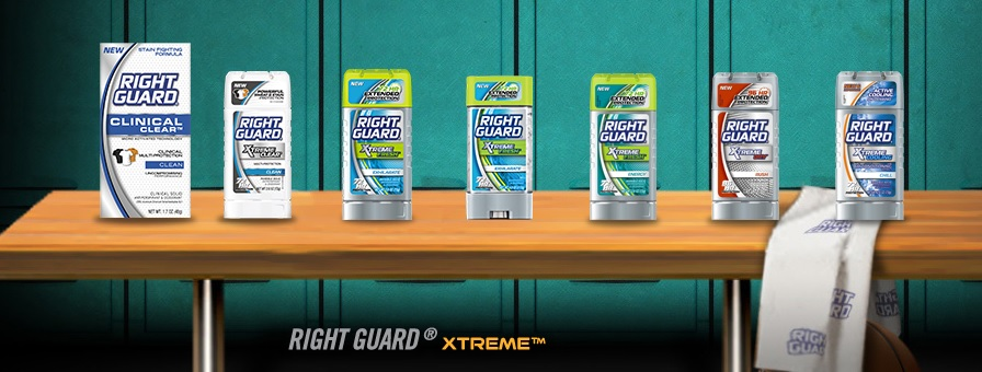 right guard xtreme Action Movies Making You Sweat? Try Right Guard for the Win