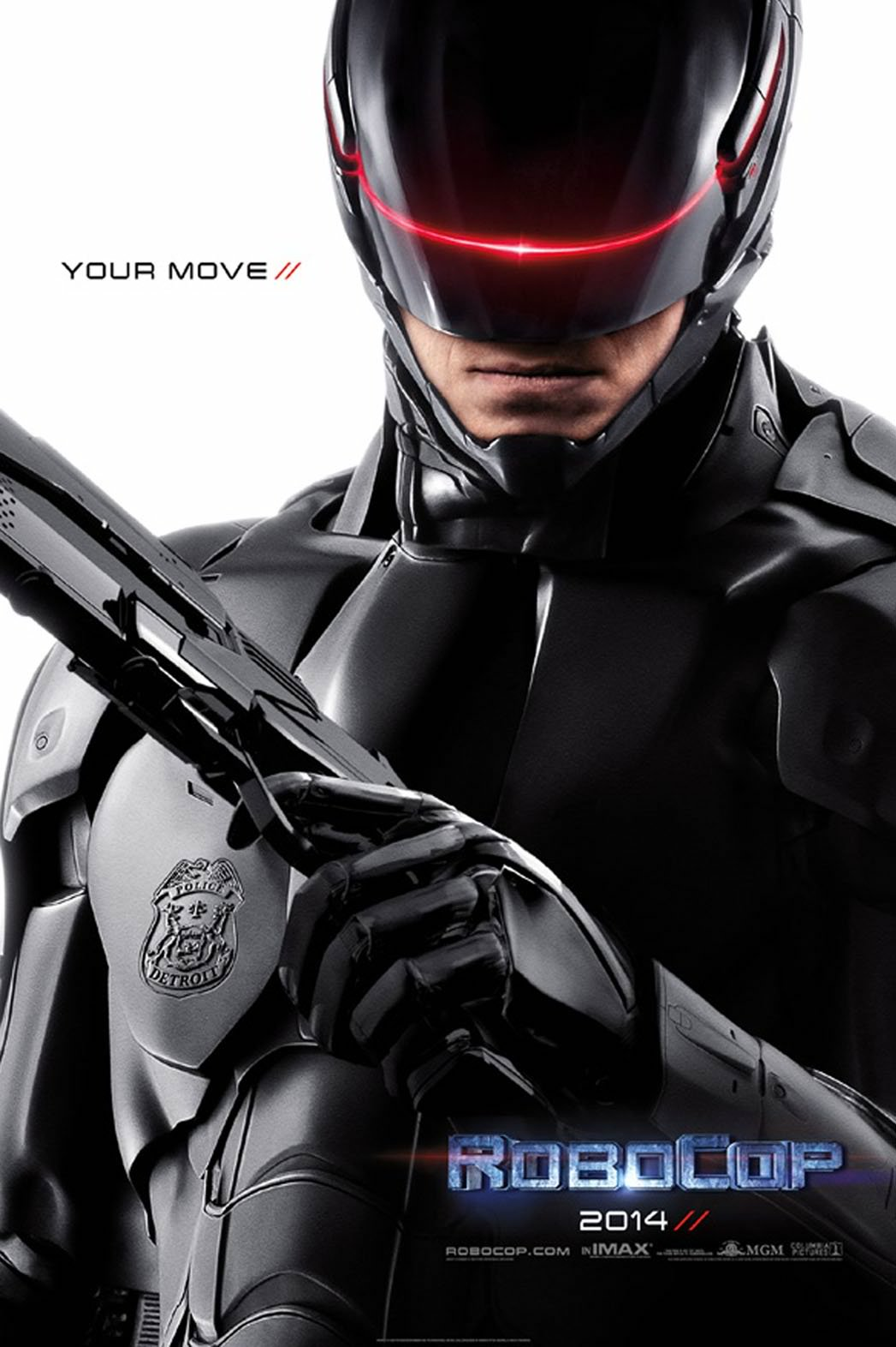 robocop movie poster RoboCop Movie Review