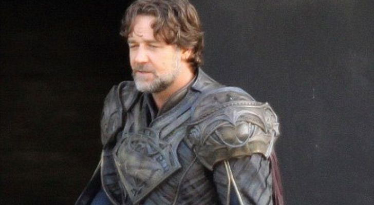 russell crowe in man of steel Interview: Russell Crowe Talks Superman: Man of Steel