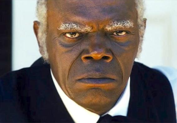 sam jackson django unchained Samuel L. Jackson Disappointed With Spielbergs Lincoln (Spoiler Alert)
