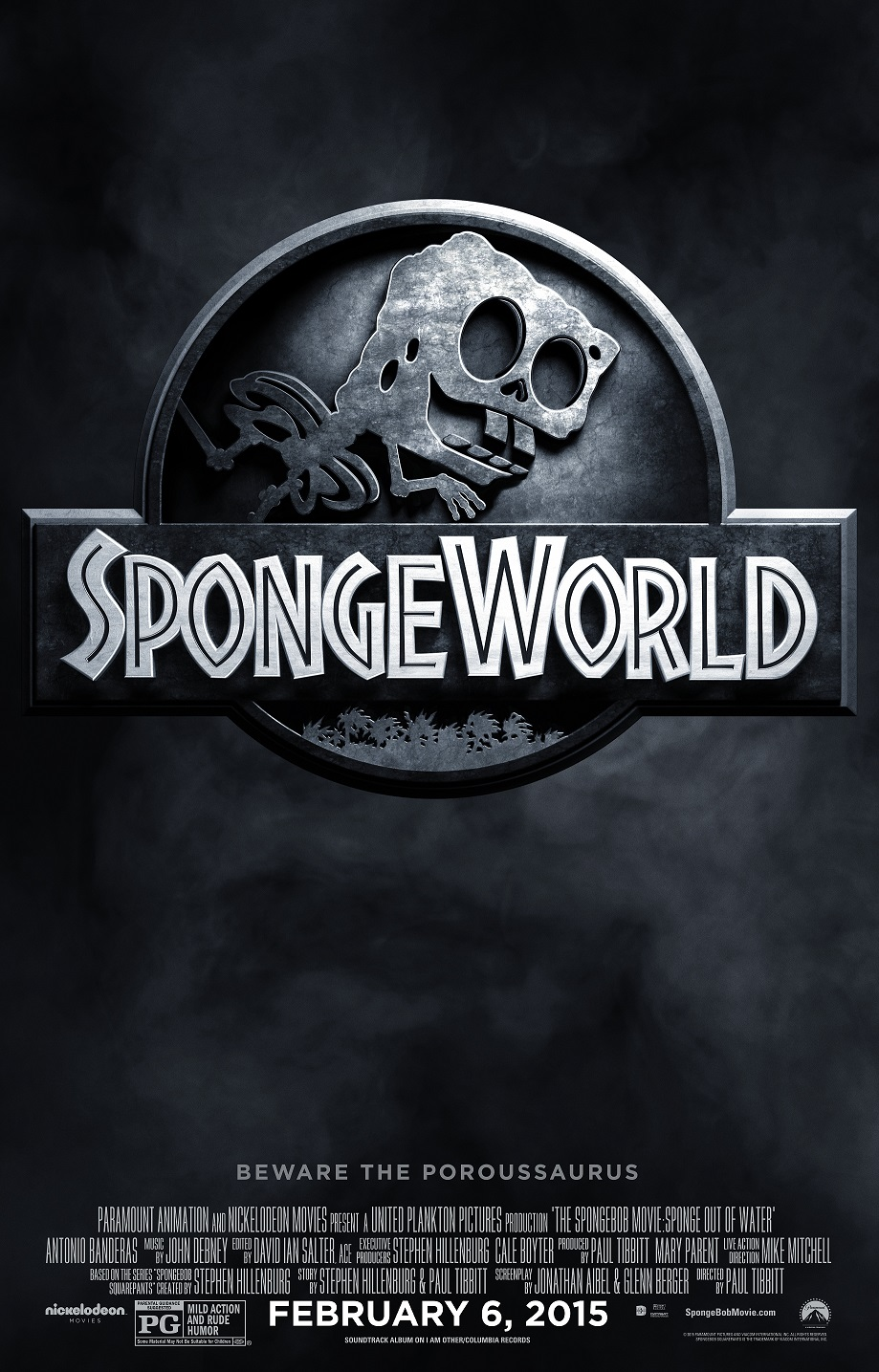 SpongeBob Jurassic World