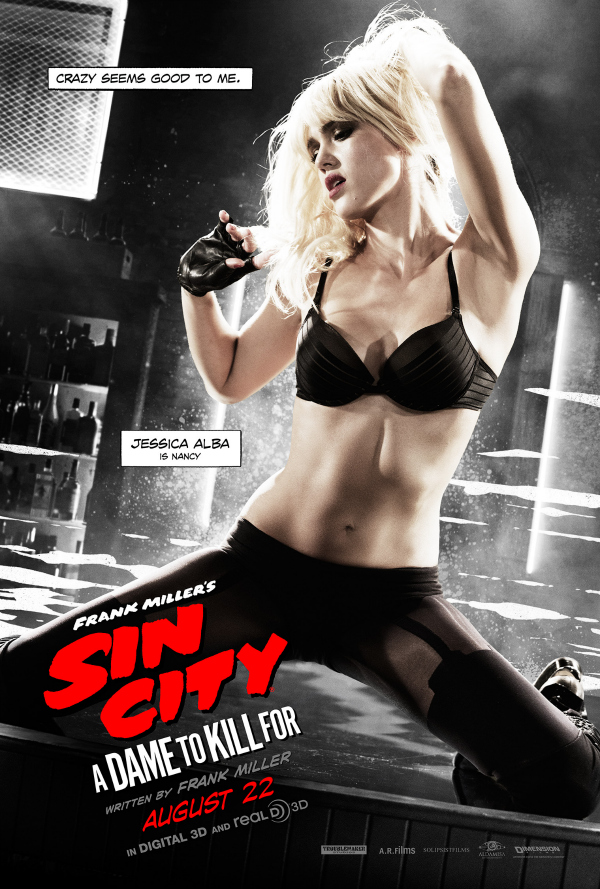 sin city a dame to kill for jessica alba.jpg Sin City: A Dame To Kill For Gets New Character Posters