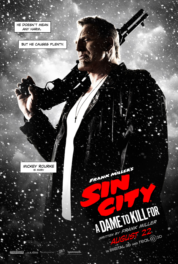 sin city a dame to kill for marv.jpg Sin City: A Dame To Kill For Gets New Character Posters
