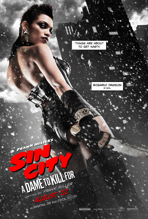 sin city a dame to kill for rosario dawson.jpg Sin City: A Dame To Kill For Gets New Character Posters