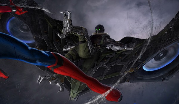 Spider-Man Battles The Vulture In New Homecoming Poster