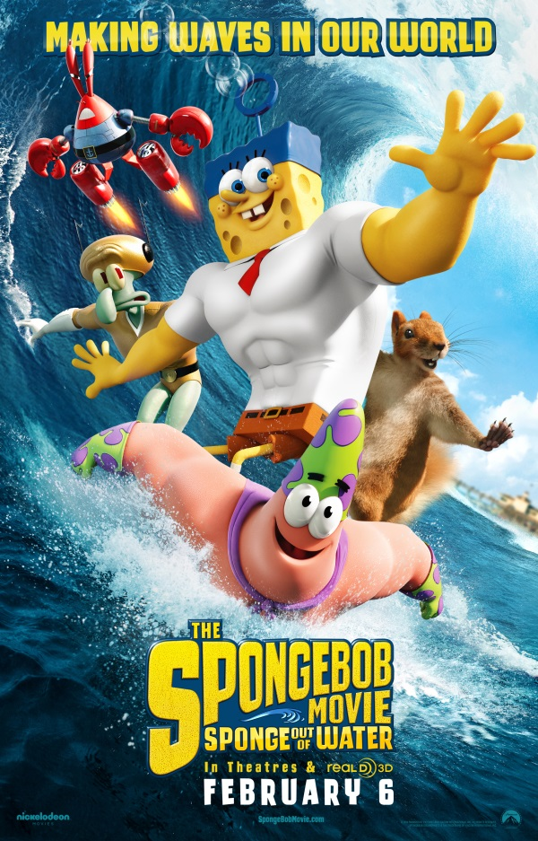 Watch the New Trailer for The SpongeBob Movie: Sponge Out of Water