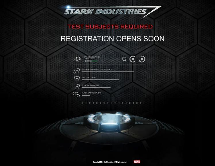 stark industries iron man 3 viral site A Viral Website for Iron Man 3 Launched, BecomeIronMan.com