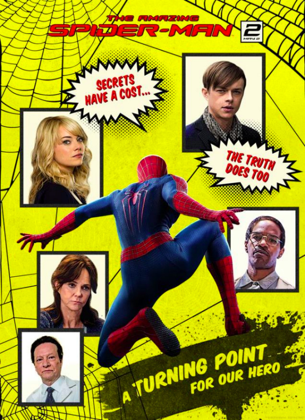 the amazing spider man 2 cheesy movie poster.jpg The Amazing Spider Man 2 Gets A New Cheesy Movie Poster