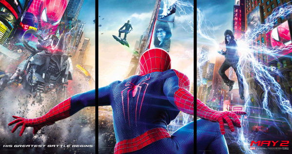 the amazing spider man 2 movie banners The Amazing Spider Man 2 Gets A New Official Plot Synopsis And New Banner Posters