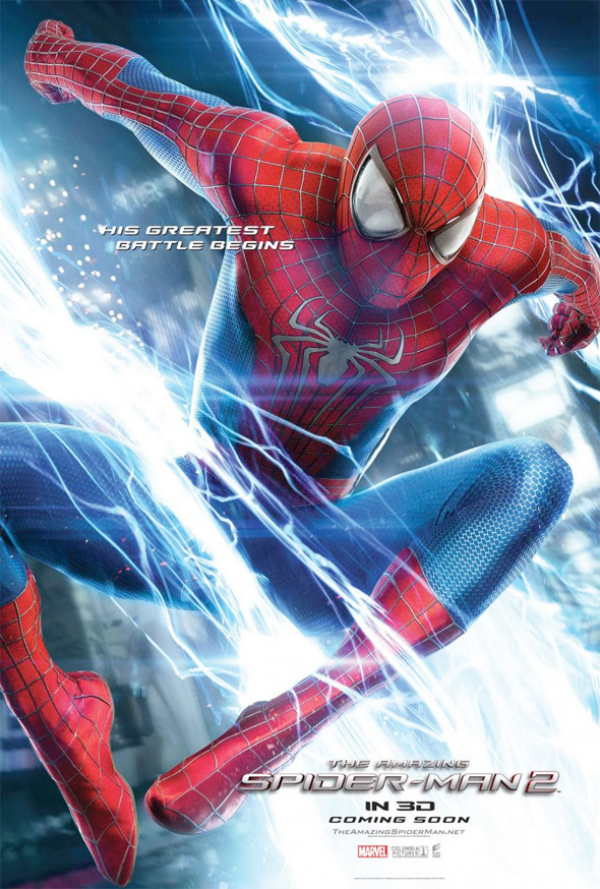 the amazing spider man glossy movie poster 01 The Amazing Spider Man 2 Gets Three New Glossy Movie Posters