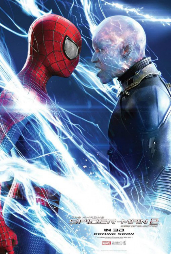 the amazing spider man glossy movie poster 03 The Amazing Spider Man 2 Gets Three New Glossy Movie Posters