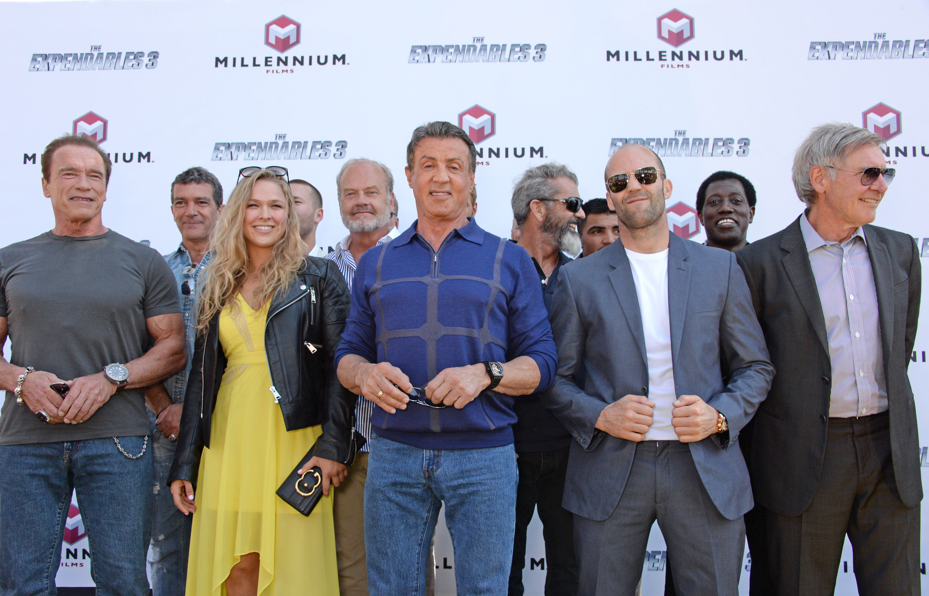 """The Expendables 3"" Stunt Photocall & Press Conference"