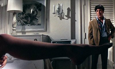 the graduate legs dustin hoffman