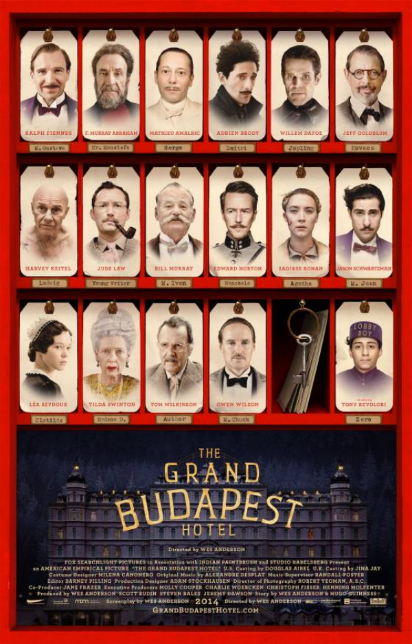 the grand budapest hotel poster vulture Wes Anderson's The Grand Budapest Hotel Gets A New Poster