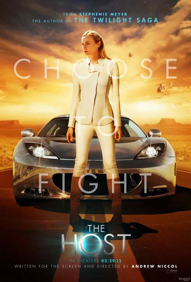 the host choose to fight poster Three New Posters for Stephanie Meyers The Host