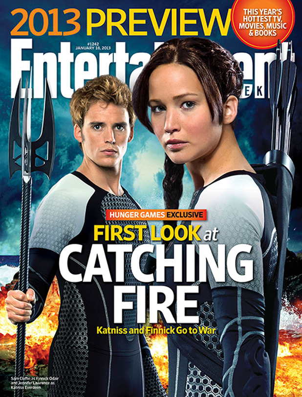 the hunger games catching fire ew cover Entertainment Weeklys First Look At The Hunger Games: Catching Fire Revealed