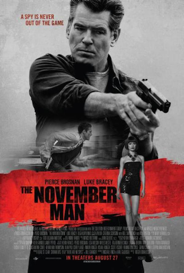 the november man poster The November Man Movie Review