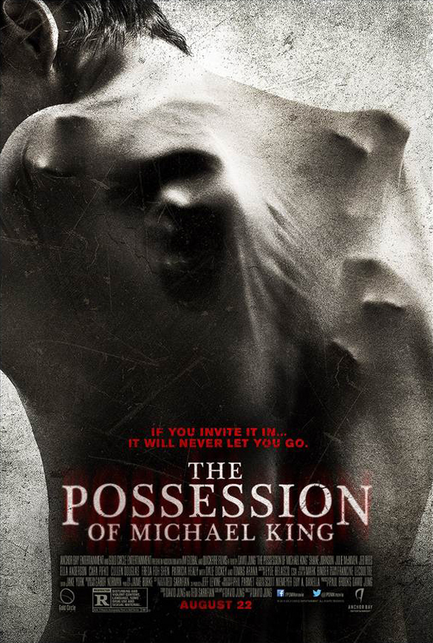 the possession of michael king poster The Possession of Michael King Takes Hold with Release and Key Art