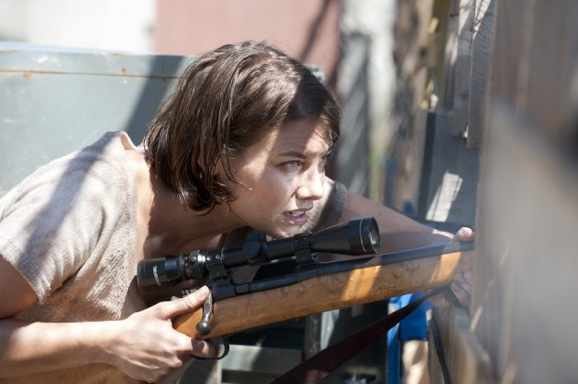 the walking dead episode 11 girl New Stills from The Walking Dead Season 3 Episode 11 I Aint A Judas