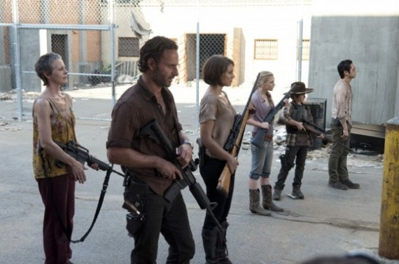 the walking dead season 3 cast lineup New Stills from The Walking Dead Season 3 Episode 11 I Aint A Judas