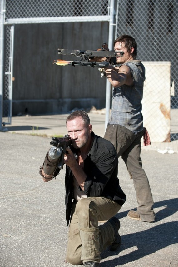 The Walking Dead Season 3 Episode 11 Meryl and Daryl