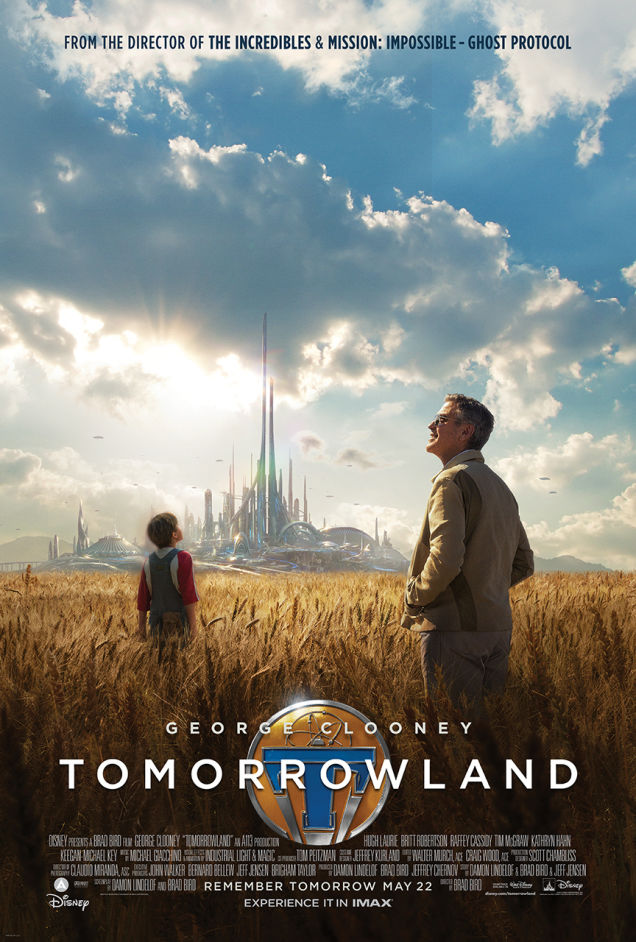 tomorrowland poster Tomorrowland Gets A New Poster