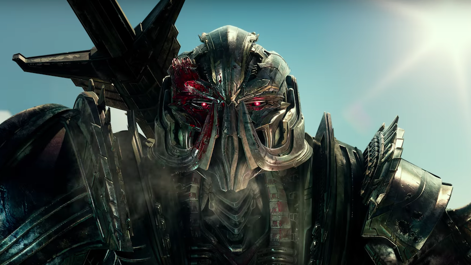 new clip from transformers the last knight following mark wahlberg