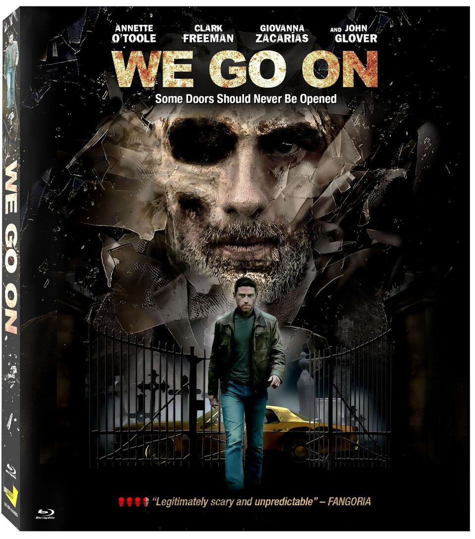 We Go On Blu-ray Cover Art