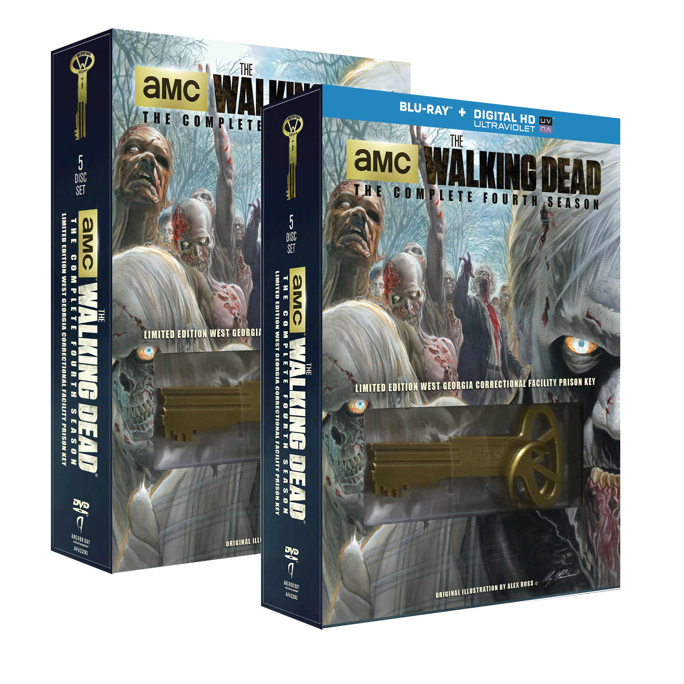 walking dead s4 key boxes 3d WALMART New Bonus Feature Video From The Walking Dead: The Complete Fourth Season