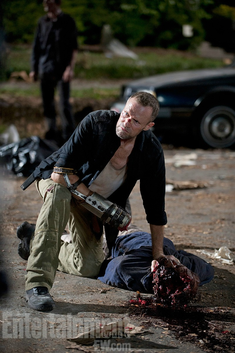 walming dead season 3 5 headshot More Revealing Stills from The Walking Dead Mid Season 3 Premiere