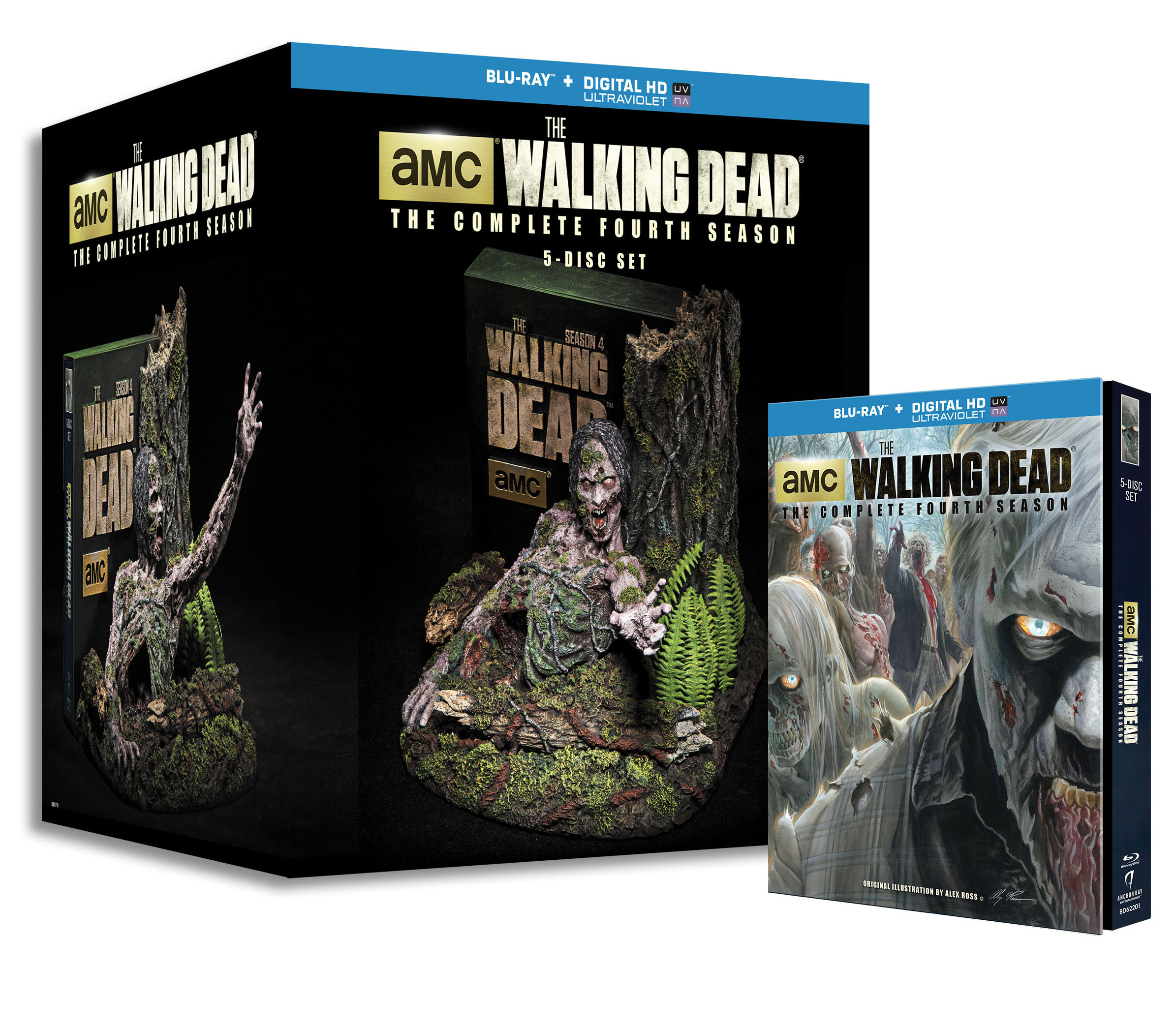 wds4 Limited Edition beauty shot7 The Walking Dead: The Complete Fourth Season Coming to DVD and Blu ray August 26