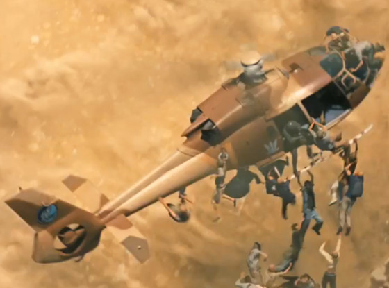 world war z helicopter zombies