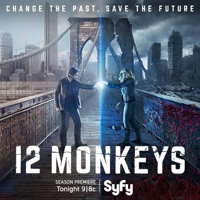 12 Monkeys Premiere Tonight Poster