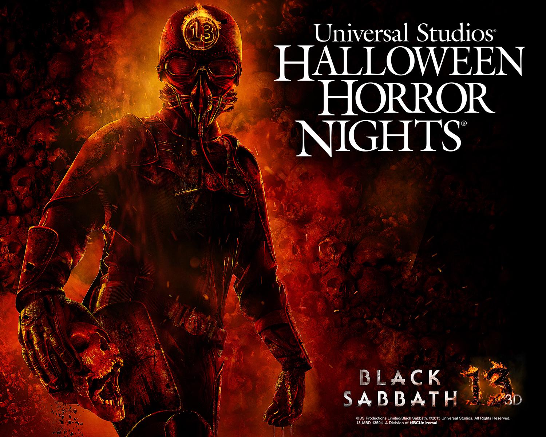 Halloween Horror Nights 2013 Black Sabbath