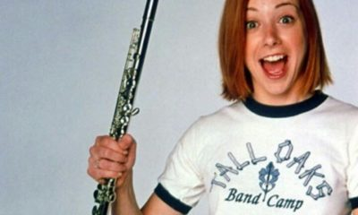 Alyson Hannigan One Time in Band Camp