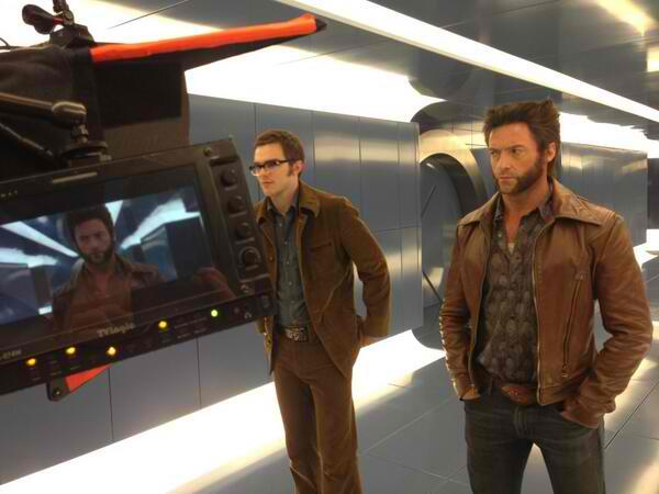 Beast and Wolverine in X-Men Days of Future Past