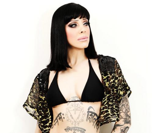 Bif Naked new video Jim a smorg of sight, sound and