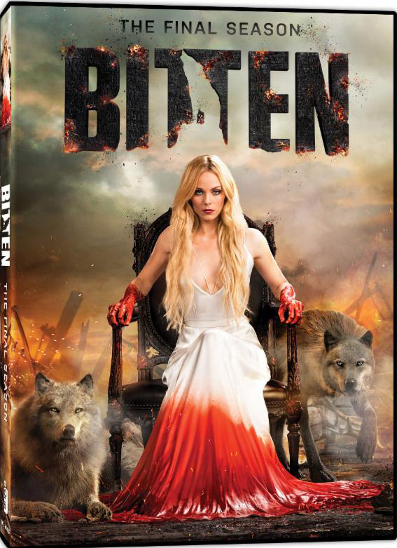 Bitten The Final Season DVD Giveaway Shows the Fate of the World's Only Female Werewolf
