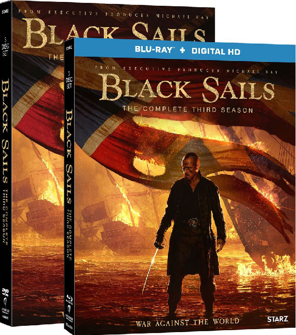 Black Sails Blu-ray Giveaway Explore the Continued Battles of Legendary Pirates