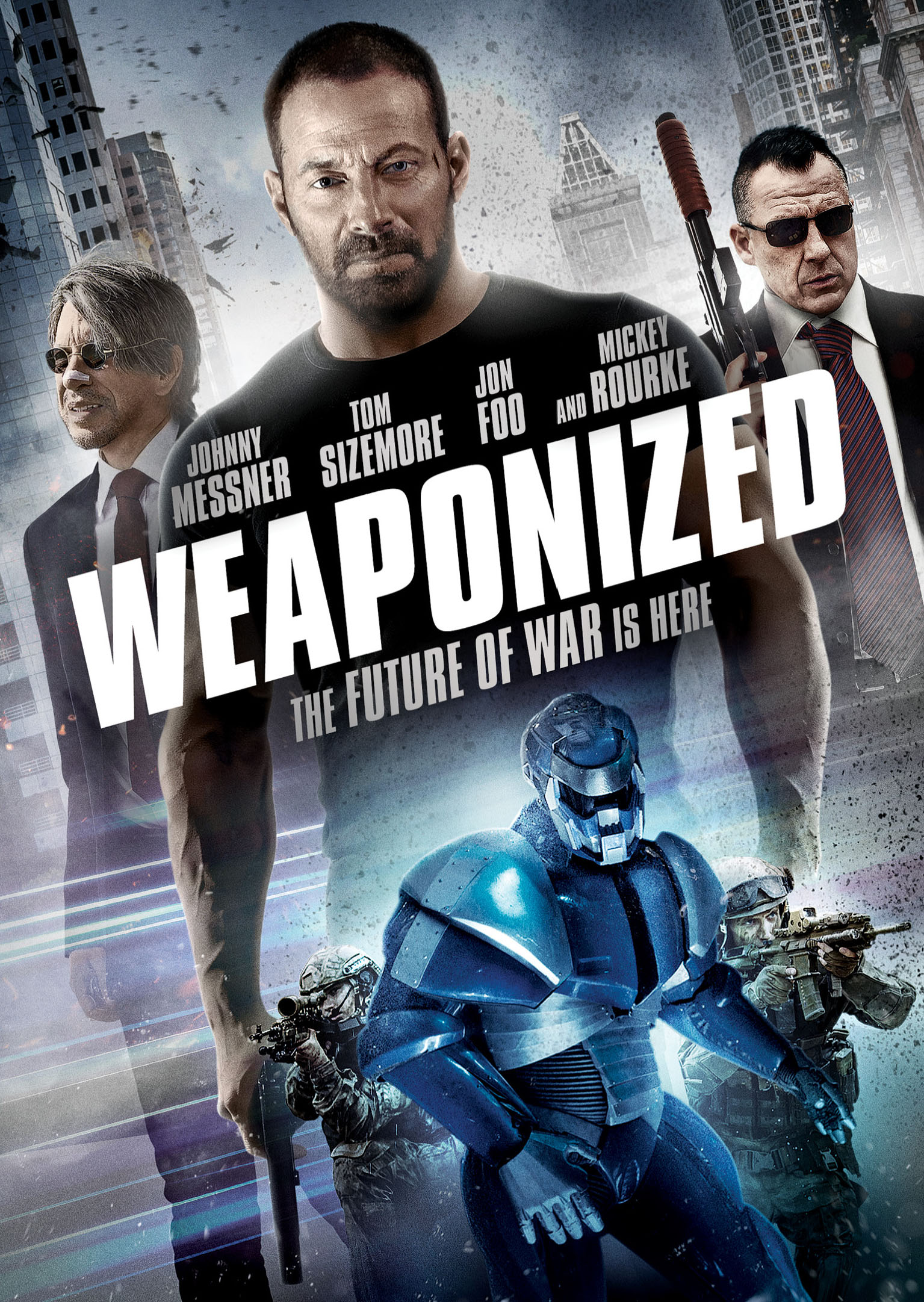 Exclusive Weaponized Clip Shows Tom Sizemore and Johnny Messner Fighting the War on Terror